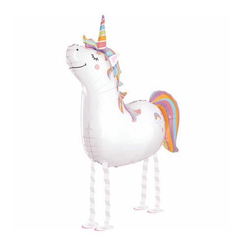 Walking Unicorn Balloon Party Decoration for Unicorn Themed Birthday Parties