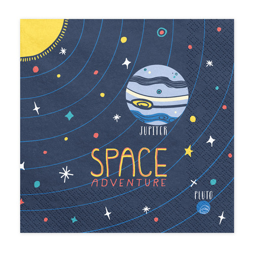 Space Themed Napkins Party Decoration for Alien and Space Themed Birthdays