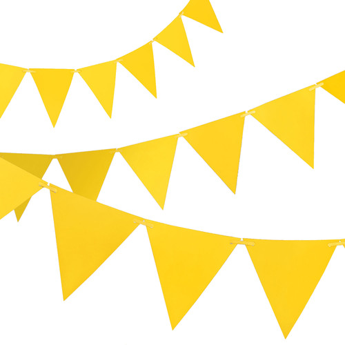 Yellow Paper Bunting