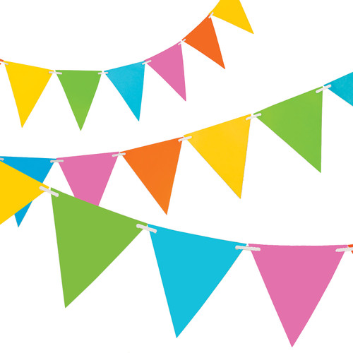 Candy Mix Paper Bunting