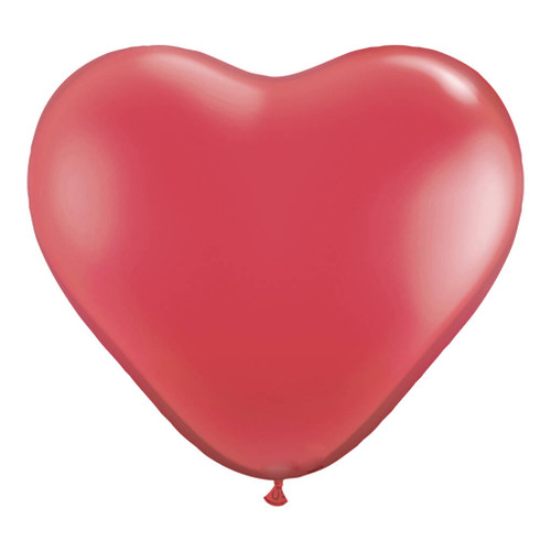 Red Heart Balloon Party Decoration for Hen Parties, Weddings and Valentines Day