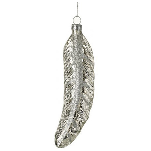 Glass Leaf Party Decoration for Chic Christmas Trees or Festive Home Decor