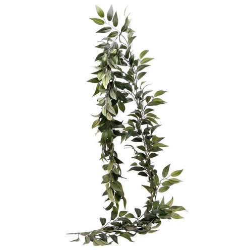 Artificial Ruscus Leaf Garland Party Decoration for Rustic Weddings, Birthdays or Baby Shower Venue Decor
