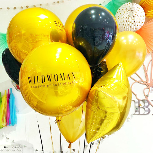 Branded Balloons and Decor