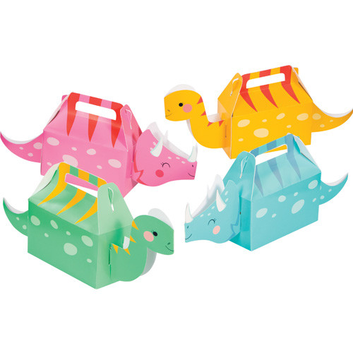 Dinosaur Party Treat Boxes for jurassic and dinosaur themed children's birthday parties