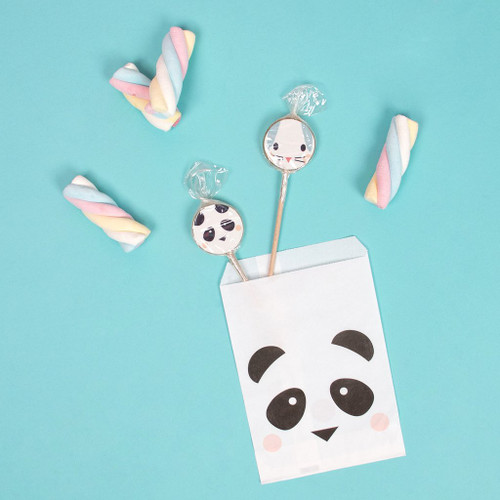 Panda Paper Bags Party Accessory for Birthday and Baby Shower Treat Bags