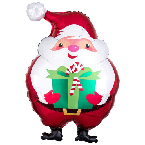 Christmas Santa and Gift Balloon