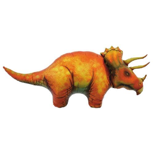 Triceratops Dinosaur Foil Birthday Balloon