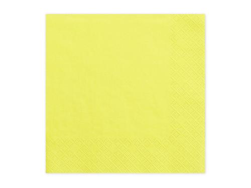 Yellow Party Napkins