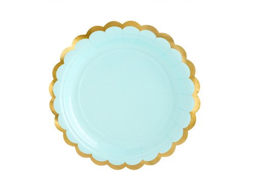 Mint Green Party Plates