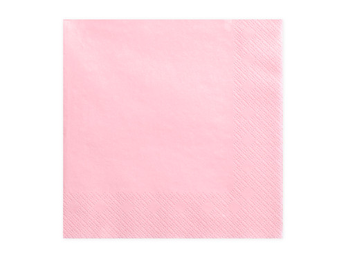 Light Pink Party Napkins