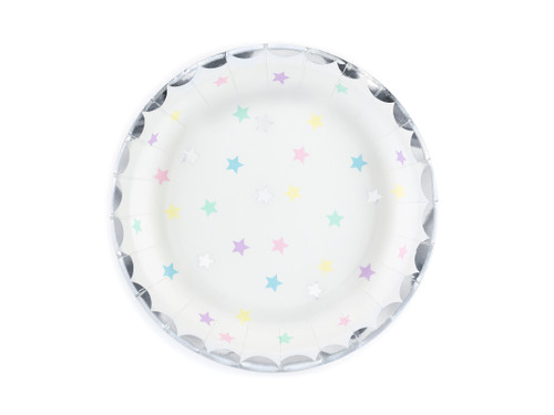 Pastel Star Party Plates