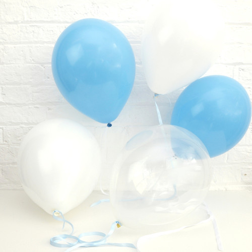 Blue Baby Shower Balloons