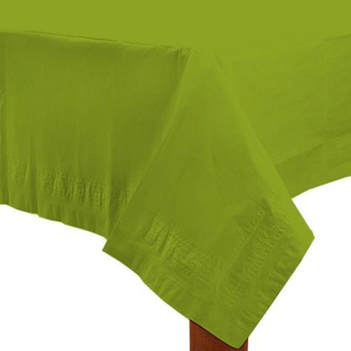 Light Green Paper Table Cover
