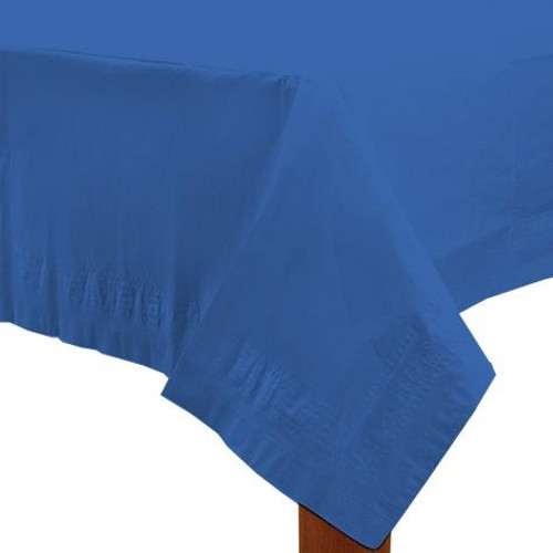 Navy Paper Table Cover