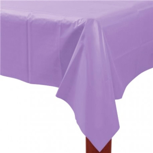 Lilac Paper Table Cover