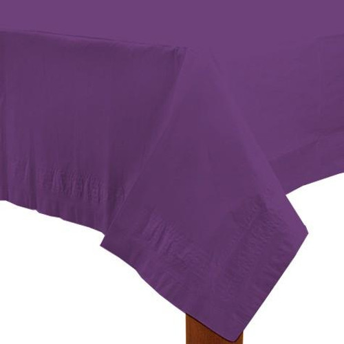 Purple Paper Table Cover