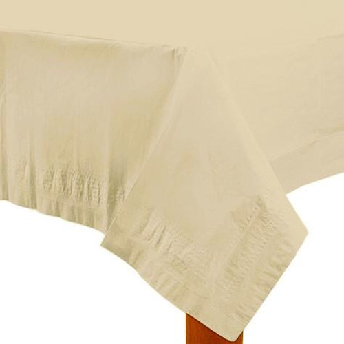 Ivory Paper Table Cover