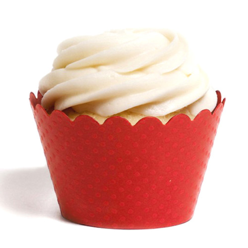 Red Cupcake Wrappers