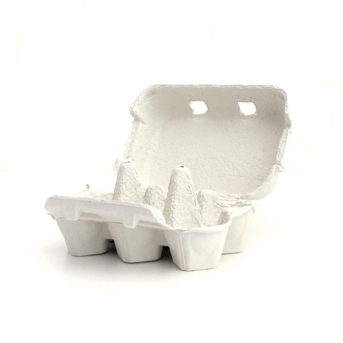 Grey Egg Cartons for cupcake displays, wedding dessert tables, fun easter egg hunt gift boxes and craft projects