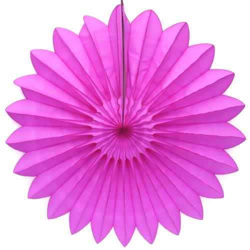 Dark Pink Deluxe Paper Fan
