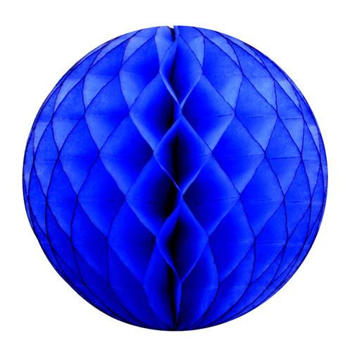 Dark Blue Tissue Paper Honeycomb Ball Pom Pom Decoration