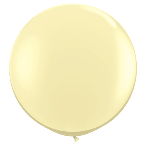 Big ivory balloon party decoration for birthdays, weddings, photo booth backdrops, anniversaries, baby showers, hen parties.