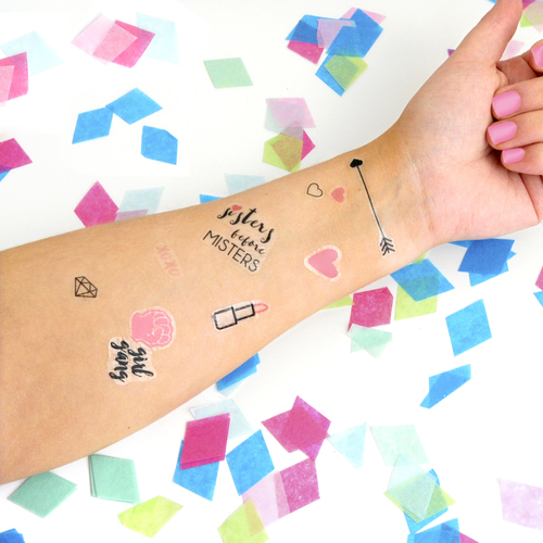 Hen Party Girl Gang Temporary Tattoos