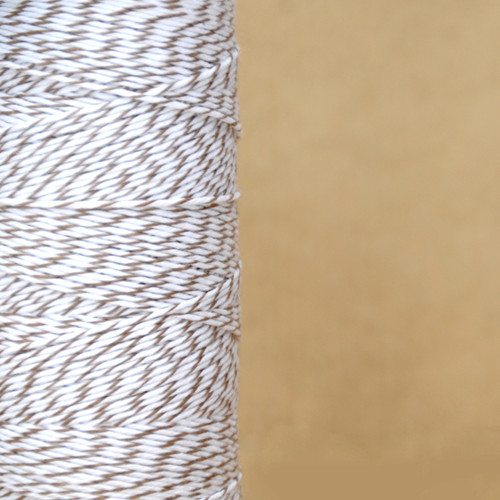 Brown Sugar Bakers Twine made of cotton for Gift Wrap, Favours and Craft Projects