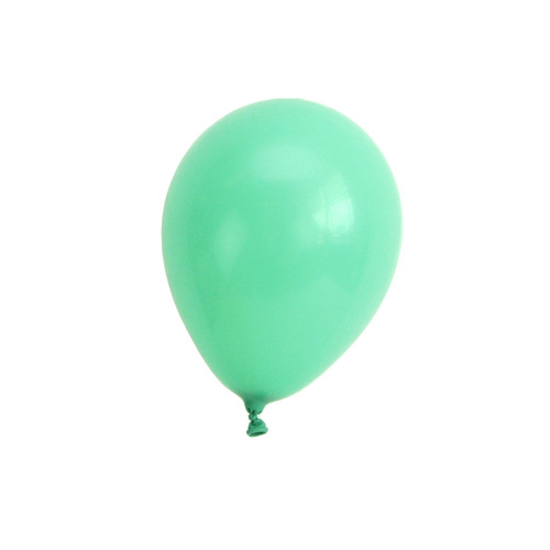 Green mini balloons for childrens birthday parties, balloon arches, dessert table displays, hen dos and baby showers