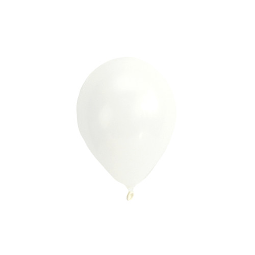White mini balloons for childrens birthday parties, balloon arches, dessert table displays, hen dos and baby showers