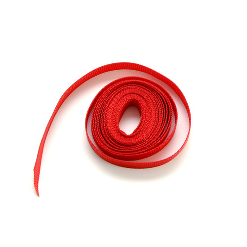 Red luxury grosgrain ribbon for wedding favours, craft projects and gift wrap