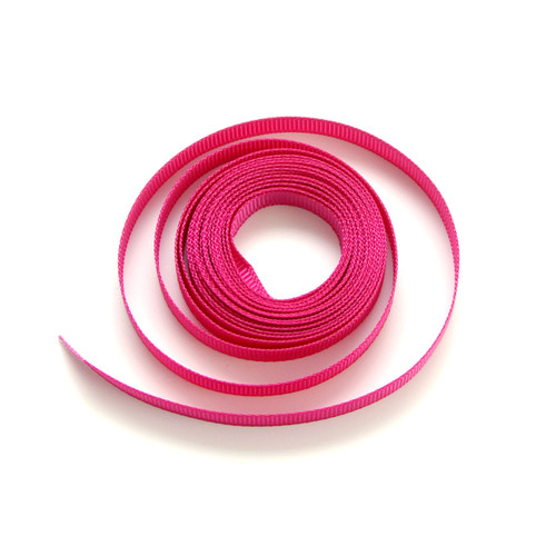 Dark pink luxury grosgrain ribbon for wedding favours, craft projects and gift wrap
