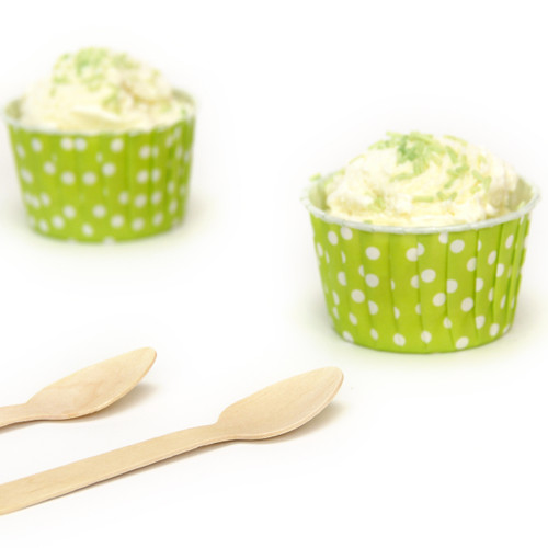 Wooden Spoons for birthday parties, ice cream and canapés