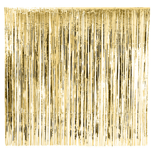 Gold metallic curtain for photo booth backdrops, wedding receptions and gatsby themed birthday parties