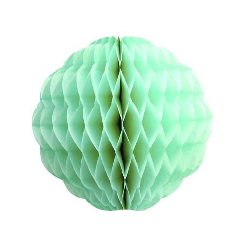 Pastel Mint Tissue Paper Honeycomb Pom Pom Decoration