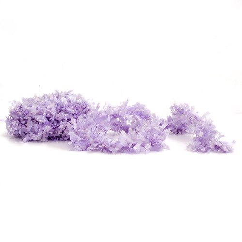 Lavender fringe festooning for balloon tails, party garlands and wedding table decorations