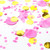 Pink and gold Pink Champagne tissue paper party confetti