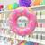 Doughnut Foil Balloon for Children's Birthday Parties and Hen Parties