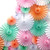 Pastel Deluxe Tissue Paper Fan Decoration for Birthday Parties, Weddings, Baby Showers and Hen Dos