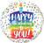 Happy Birthday Polka Dot Balloon makes a wonderful gift and original birthday present