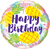Happy Birthday Pineapple Balloon makes a wonderful gift and original birthday present