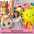 Gold Pineapple Party Balloons