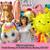 Mini Rainbow Balloon Cake Toppers