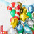 Candy cane Christmas foil balloon decoration