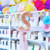 Bubble balloon filled with a letter balloon for birthday parties, hen dos and celebrations