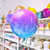 Unicorn Ombre Orb Helium Foil Balloon Party Decoration for Unicorn Themed Birthday Parties