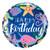 Under the Sea Happy Birthday Helium Foil Balloon for Mermaid Themed Birthday Parties