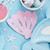 Pink Seashell Napkins Party Tableware for Under the Sea Mermaid Themed Birthdays