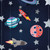 Space Themed Hanging Party Decorations for Space and Superhero Themed Birthdays
